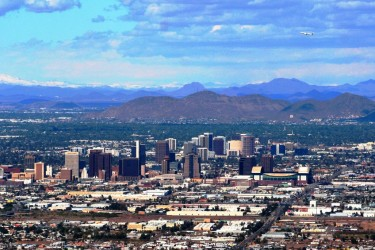 Phoenix Downtown Skyline daytime
