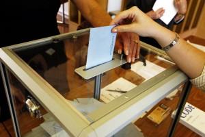 Voter ballot box voting