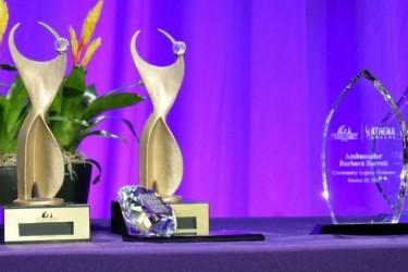 2015 ATHENA Award table