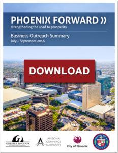 Phoenix Forward July September 2016 Business Outreach