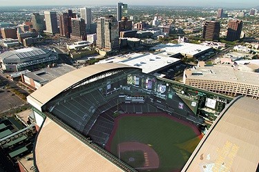 Chase Field top view