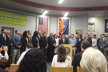 Ducey Prop. 123 announcement