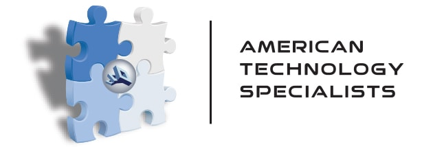 american technology specialists logo