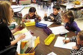 children kids in class wiki image