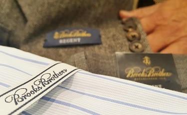 Carefully selected Brooks Brothers shirt, slacks and coat. (Photo by Josh Coddington/GPCC)