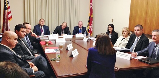 GOP Congresswoman Martha McSally shares her insights as a part of GPCC's annual Executive Dialogue Delegation to Washington, D.C.