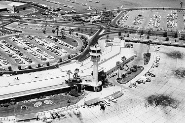 Sky Harbor's Terminal 1 is shown in the 1950s. (Photo Courtesy of Sky Harbor International Airport).