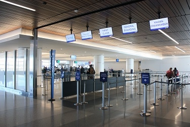 New checkpoints await travelers at Phoenix Sky Harbor Airport's newly rennovated Terminal 3. (Photo courtesy of Sky Harbor)